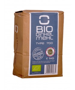 Bio Dinkelmehl Type 700