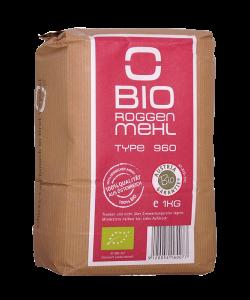 Bio Roggenmehl Type 960