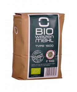 Bio Weizenmehl Type 1600