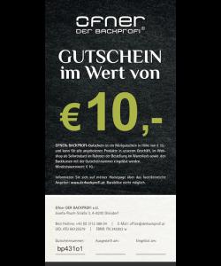 Backprofi Gutschein